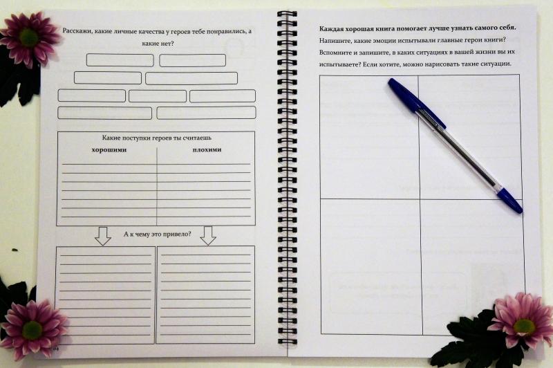 Дневник читателя для детей 5-6-7-8 лет 3 и 4 страница с заданиями | Мир в слове. Блог о том, как привить ребенку любовь к чтению