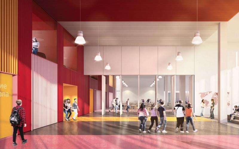 Помещение новой школы в Бунинских Лугах. Новая Москва | Мир в слове. Блог о том, как привиь ребенку любовь к чтению