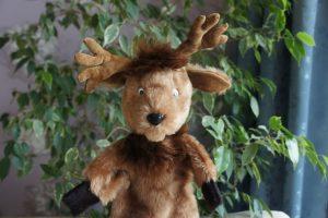 Олень игрушка-рукавичка ручная работа | Мир в слове. Блог о том, как привить ребенку любовь к чтению