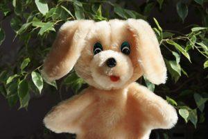 Собачка игрушка-рукавичка ручная работа | Мир в слове. Блог о том, как привить ребенку любовь к чтению