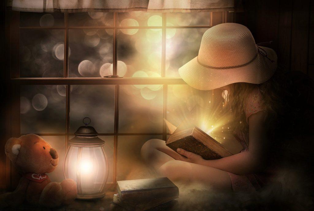 Волшебство общения с писателем во время чтения книги